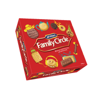 Family Circle Biscuit Assortment 720g A07942