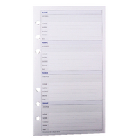 Image for Collins Personal Organiser Address Refill (30 Pack) PR2002