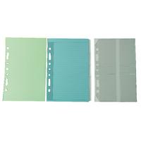 Image for Collins Desk Organiser Refill Assorted Inserts DK1022