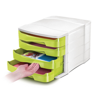 Image for CEP Pro Gloss Green 4 Drawer Set 394BIGGREEN
