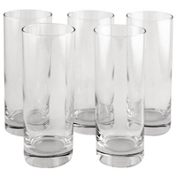 Clear Tall Tumbler Drinking Glass 36.5cl (6 Pack) 0301023