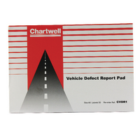Image for Chartwell Vehicle Defect Report Pad CVDR1