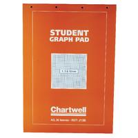 Image for Chartwell A3 Graph Pad 30 Leaf J13B