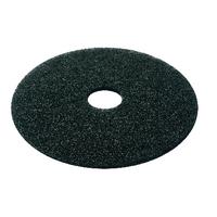 Black 15 Inch 380mm Floor Pad (5 Pack) 2NDBK15