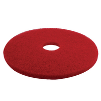 3M Red 17 Inch 430mm Floor Pad (5 Pack) 2NDRD17