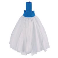 Blue Exel Big White Mop Head (10 Pack) 102199BU