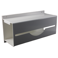 White Wall Mounted Apron on a Roll Dispenser VPPAPD