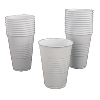 White Vending Drinking Cup Tall 20cl (100 Pack) GIPSTCW2000V100