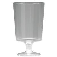 Plastic Stem Wine Glasses 200ml (25 Pack) KPLPWG