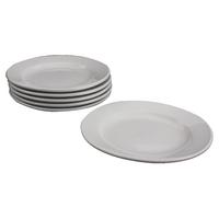White 170mm Porcelain Plate (6 Pack) 305093