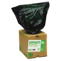 The Green Sack Black Rubble Sack in Dispenser (30 Pack) VHPGR0603