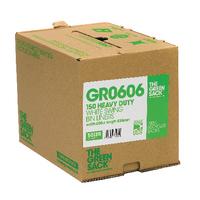 The Green Sack White Swing Bin Liners in Dispenser (150 Pack) VHPGR0606