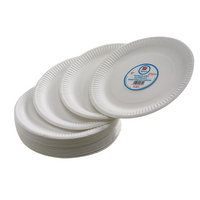 Paper Plate 7 Inch White (100 Pack) 0511040