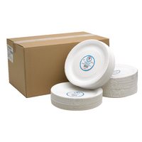 Paper Plate 9 Inch White (100 Pack) 0511041