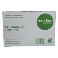 Maxima White 2-Ply Bulk Pack Toilet Tissue 250 Sheets (36 Pack)