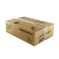 The Green Sack Heavy Duty Black Refuse Sack (200 Pack) KMAXHD