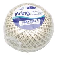 County Cotton String Ball Medium 60m C176