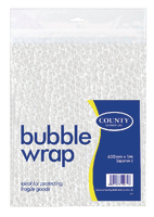 County Bubble Wrap Sheet 600mm x 1 Metre C22