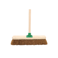 Coco 18 Inch Soft Broom With Handle G.01/Black T/C4