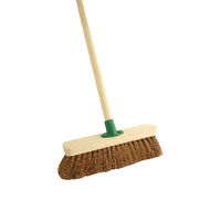 Coco 12 inch Soft Broom With Handle F.01/Black T/C4