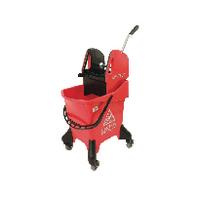 Hygineer Ergonomic Red 31 Litre Heavy Duty Mop Bucket HRMB31/R