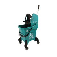 Hygineer Ergonomic Green 31 Litre Heavy Duty Mop Bucket HRMB31/G