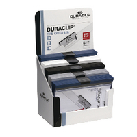 Durable Assorted Duraclip A4 Files (Retail Pack of 50 Pack) 2985/00