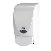 Deb Stoko White Proline 1000 Soap Dispenser WHB1LDS