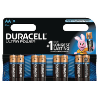 Image for Duracell Ultra Power AA Batteries (8 Pack) 75051925
