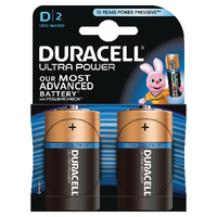 Image for Duracell Ultra Power Size D Batteries (2 Pack) 75051964