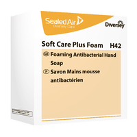 Diversey Soft Care Bac H4 Antibacterial Cream Foam Hand Wash 700ml (6 Pack) 6960800