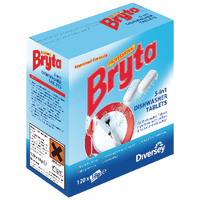 Bryta 5 in 1 Dishwasher Tabs 120pc (4 Pack) 7519448