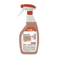 Suma Grill Cleaner D9 750ml (6 Pack) 7519518