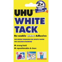 Image for UHU White Tack Handy Pack 62g (12 Pack) 42196