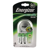 Image for Energizer Base Battery Charger With 4 x AA Batteries 632229