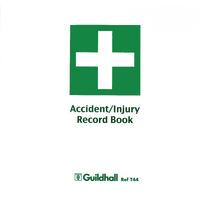 Image for Guildhall Accident Book (5 Pack) T44