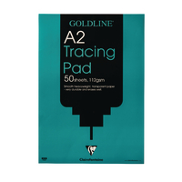 Image for Goldline A2 Heavyweight Tracing Pad 112gsm 50 Sheets GPT3A2