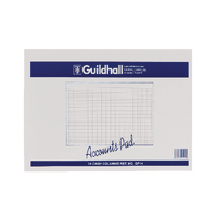 Image for Guildhall Account Pad 14-Column Cash 298x406mm GP14 1590