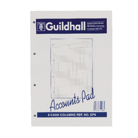 Image for Guildhall A4 Account Pad 6-Column Cash GP6 1588