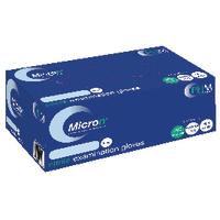 Image for Hand-Safe Blue Powder-Free Nitrile Examination Medium Gloves (200 Pack) GN90