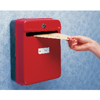 Image for Helix Red Post/Suggestion Box W81060