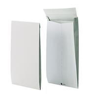 Securitex Tear Resistant C4 34mm Gusset Envelope Pocket 130gsm White (50 Pack) 8350206