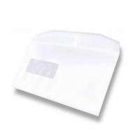 Postmaster Envelope 162 x 238mm High Window 90gsm Gummed White (500 Pack) A29984