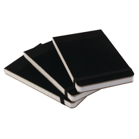 Image for Cambridge Headbound Elasticated 76 x 127mm Black Notebook (10 Pack) 100080057