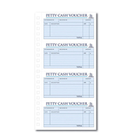 Image for Challenge Petty Cash Book 280 x 141mm 200 Duplicate Slips 100080052