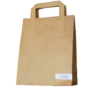 Image for Paper Takeaway Bag Brown (250 Pack) BAG-SPIC01-A