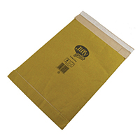 Image for Jiffy Padded Mail Bag Size 0 135 x 229mm Gold (10 Pack) 1215