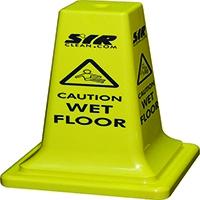 SYR Floor Sign Caution Wet Floor 21 Inches 992387
