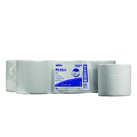 Wypall Wipers 1- Ply Centrefeed Roll White (6 Pack) 7266