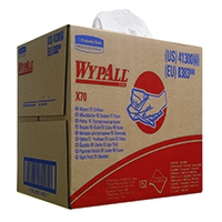 Image for Wypall X70 Wipers Box 1-Ply White (150 Pack) 8383